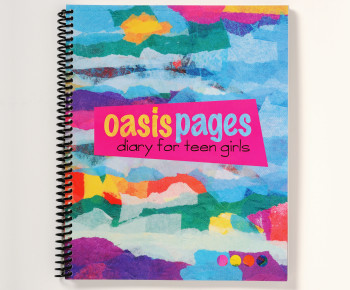 Oasis Pages Diary Cover | oasis pages.com